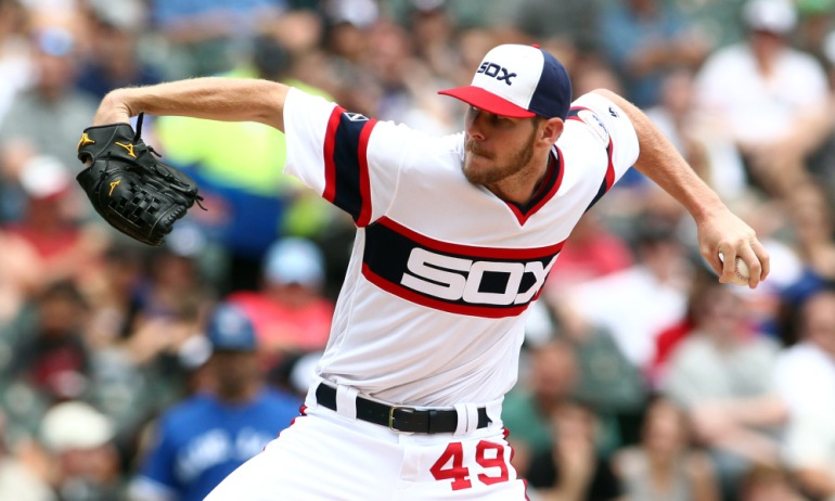 USP MLB: TORONTO BLUE JAYS AT CHICAGO WHITE SOX S [BBA OR BBN] USA IL
